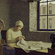 The Old Nurse Art Print