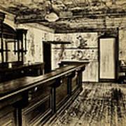 The Old Saloon Art Print