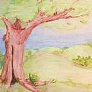 The Old Tree Art Print