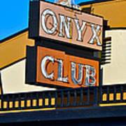 The Onyx Club Art Print