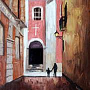 The Open Door Art Print
