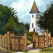 The Open Gate Art Print