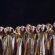 Verdi's Opera Aida Art Print