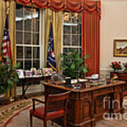 The Oval Office Art Print