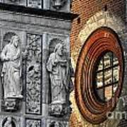 The Oval Window Art Print
