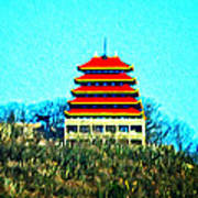 The Pagoda Art Print