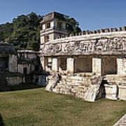 The Palace    Palenque Art Print