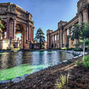 The Palace Of Fine Arts Art Print by Everet Regal