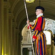 The Papal Swiss Guard Art Print