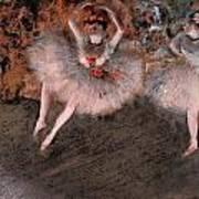 The Pas Battu Art Print by Edgar Degas