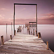 The Passage To Brightness Art Print by Jorge Maia