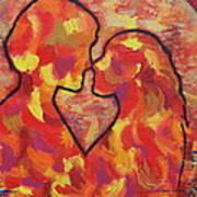 The Passion Of Romance Art Print