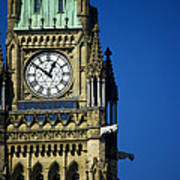 The Peace Tower, On Parliament Hill Art Print