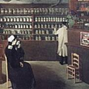 The Pharmacy, 1912 Artwork Art Print