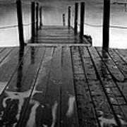 The Pier...protaras Art Print