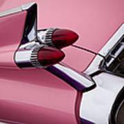 The Pink Cadillac Art Print