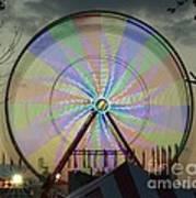 The Pinwheel Glow Art Print
