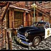The Police Hideout Art Print