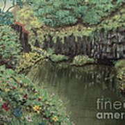 The Pond Print by Jim Barber Hove