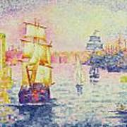The Port Of Marseilles Art Print
