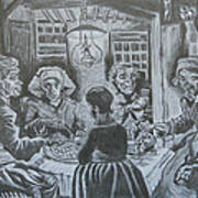 The Potato Eaters By Vincent Van Gogh Art Print