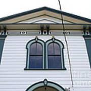 The Potter School House . Bodega Bay . Town Of Bodega . California . 7d12482 Art Print by Wingsdomain Art and Photography