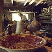 The Potters Barn Art Print