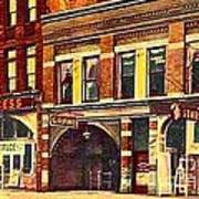 The Princess And Grand And Star Theatres On Amusement Row State Street In Erie Pa In 1910 Art Print