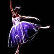 The Princess Dancer Art Print