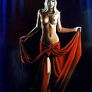 The Princess Of The Night Art Print