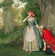 The Proposal Art Print