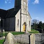 The Protestant Church, Delgany, Co Art Print