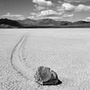 Death Valley California The Racetrack 2 Art Print