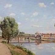The Railway Bridge Art Print