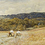 The Reapers Print by Helen Allingham