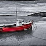 The Red Boat Art Print