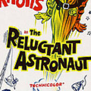 The Reluctant Astronaut, Upper Right Art Print