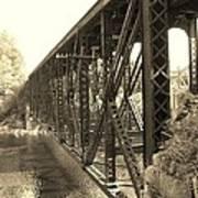 The Retired Railroad Bridge Art Print