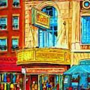 The Rialto Theatre Art Print