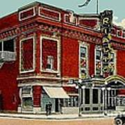 The Rialto Theatre In Brooklyn N Y In The 1920's Art Print