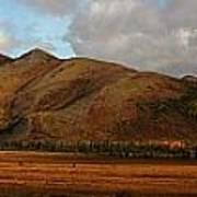 The Richardson Mountains At The Arctic Art Print