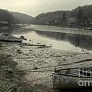 The River Fowey At Lerryn Art Print