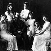 The Romanovs, Russian Tsar With Family Art Print