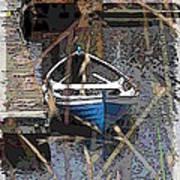 The Rowboat Art Print