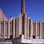 The Roxie Theater, Built By John M Art Print by Everett