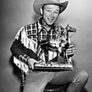 The Roy Rogers Show, Roy Rogers Art Print