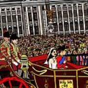 The Royal Wedding  Print by Karen Elzinga