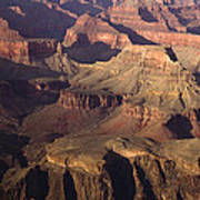 The Rugged Grand Canyon Art Print