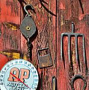 The Rusty Barn - Farm Art Art Print