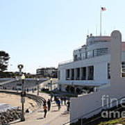 The Sala Burton Building . Maritime Museum . San Francisco California . 7d13993 Art Print